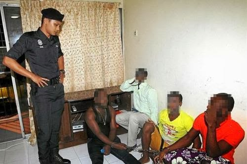 Image result for nigeria kepong arrested