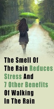 The Smell Of The Rain Reduces Stress And 7 Other Benefits Of Walking In The Rain