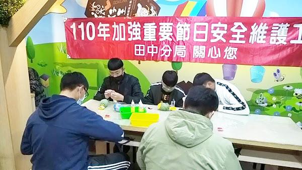 田中警察分局法治宣導 加強重要節日安全維護工作