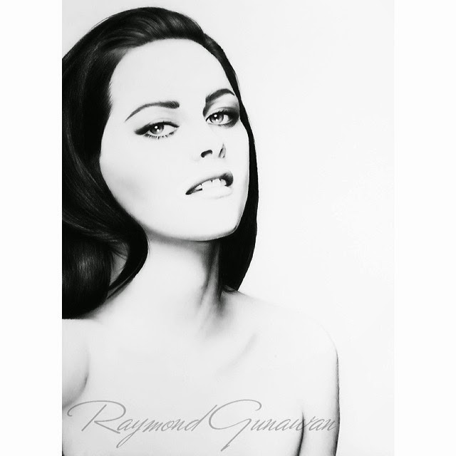 10-Kristen-Stewart-Raymond-Gunawan-Minimalist-Celebrity-Drawings-mostly-Black-and-White-www-designstack-co