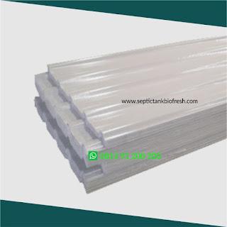atap penerangan rooflight fiberglass