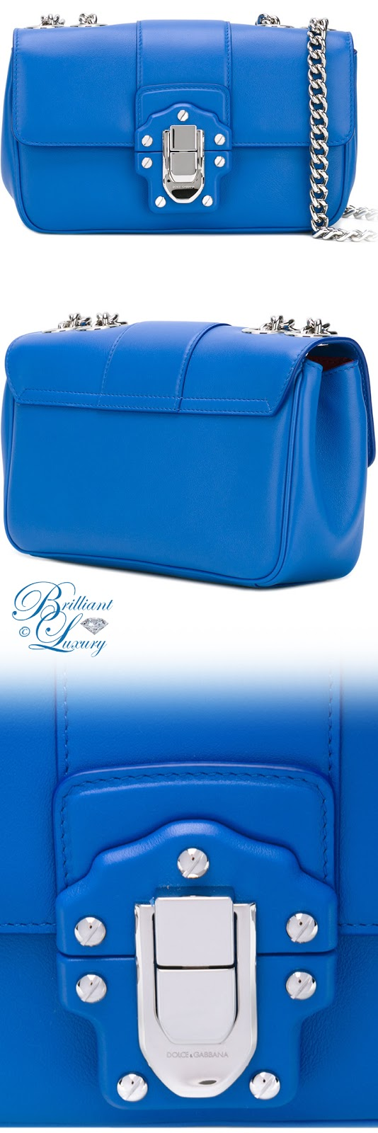 Brilliant Luxury ♦ Dolce & Gabbana Lucia Shoulder Bag