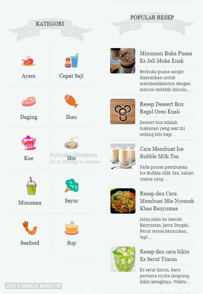 aneka resep masakan terlengkap rinaresep