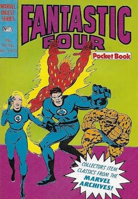 Fantastic Four pocket book #17