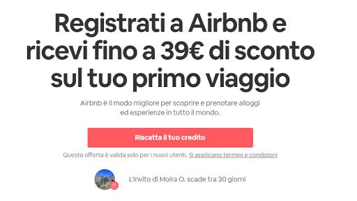 iscriversi su airbnb