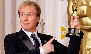 Brad Bird accepts award, Brad Bird is the director of Tom Cruise starrer M:I - Ghost Protocol