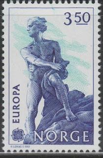 Niels Henrik Abel, mathematician Europa 1983