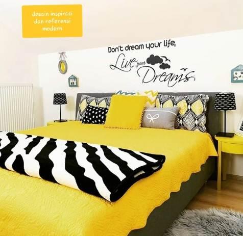 Kamar rumah minimalis 1 Lantai untuk anak remaja