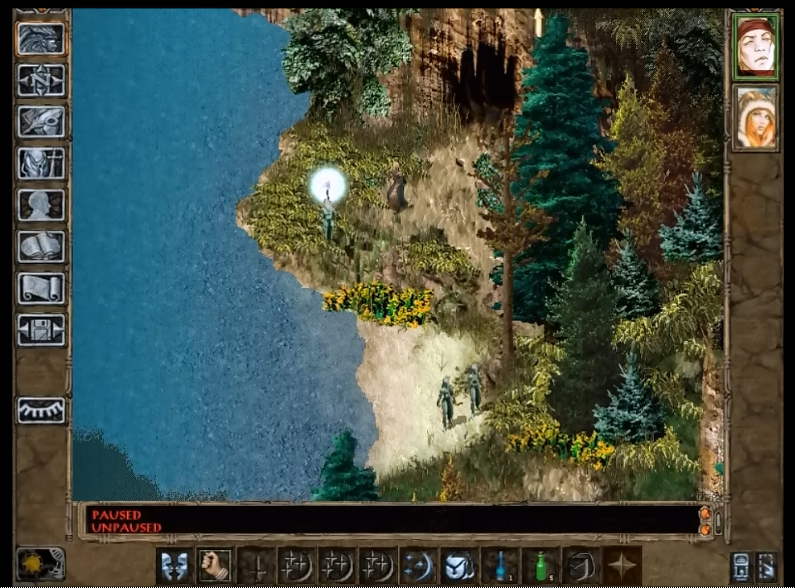 Pacifist Gaming: Baldur's Gate Pacifist Run - The Sword Coast