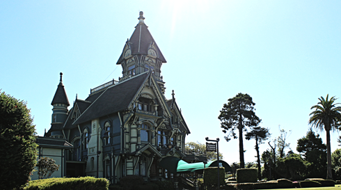 carson mansion eureka california redwoods