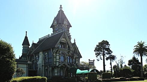 carson mansion eureka california redwoods