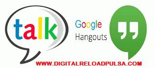 Cara Transaksi Digital Pulsa Via GTalk atau Hangouts