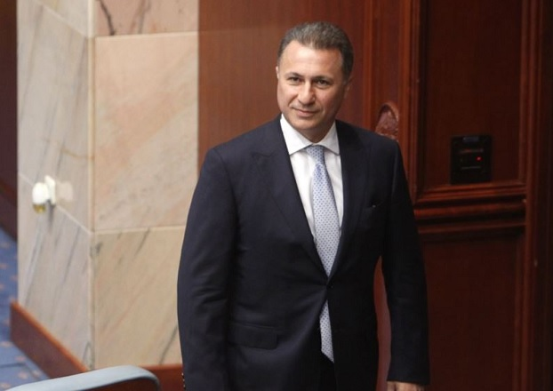 Resignation of Nikola Gruevski from the post of deputy approved