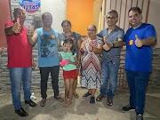 Dirce do Jailson visita moradores do bairro Aeroporto em Lima Campos