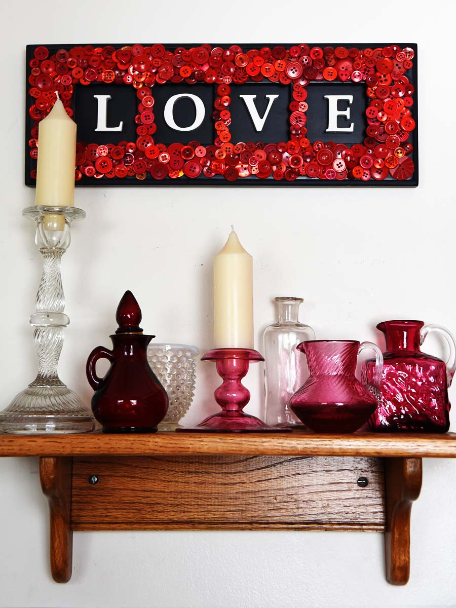 Valentine Love Vignette by Jeanne Selep