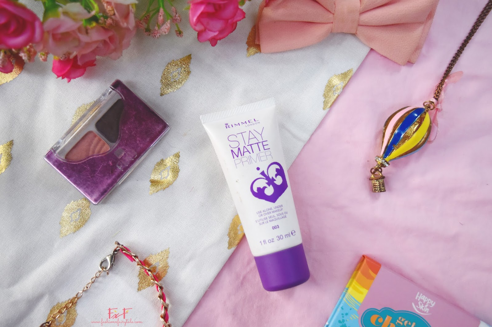 Rimmel Stay Matte Primer | Review & Swatches
