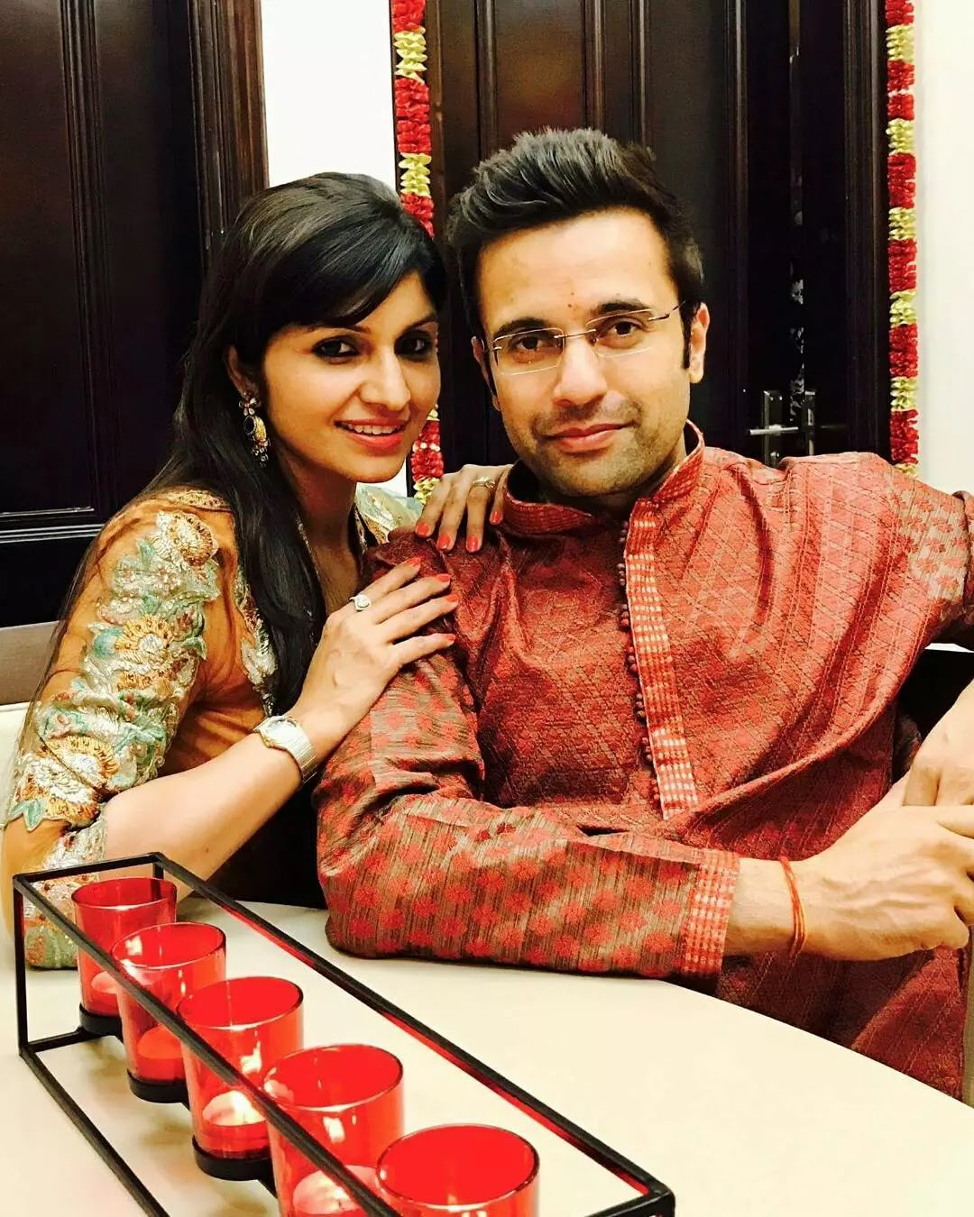 Sandeep Maheshwari with neha