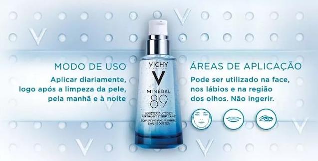 descrição do site Vichy Mineral 89