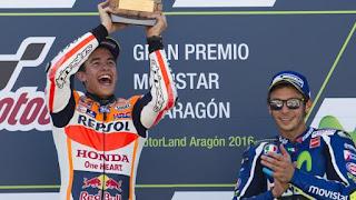 MOTO GP - Marc Márquez da un golpe de autoridad en Aragón importantísimo para el Mundial
