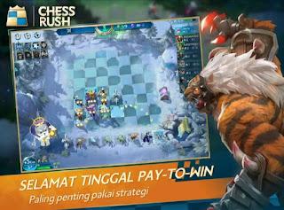 Bermain chess rush
