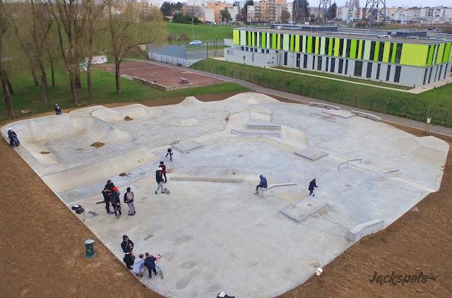 Nouveau skatepark Roissy en brie