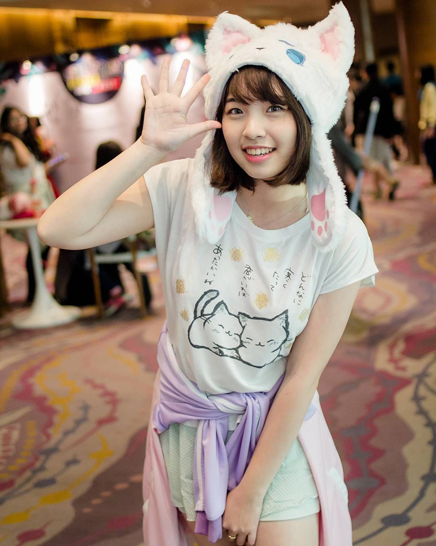 Kime Hime tampil cantik dan manisYoutuber Game