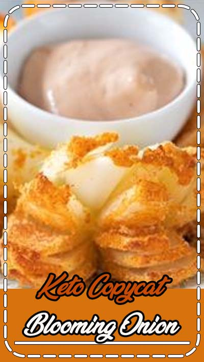 Vegetarian Gluten free Paleo · Makes 8 · A low carb and low calorie blooming onion copycat! #keto #paleo #glutenfree #appetizer