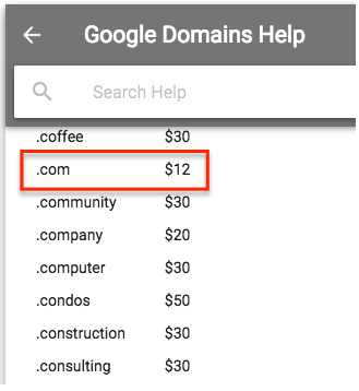 Google Domain Search and Google Domain Review