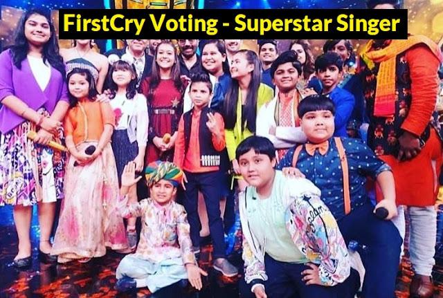 firstcry voting superstar singer
