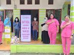 Sambut HKGB ke 69 Tahun 2021, Bhayangkari  Simalungun Bagikan Sembako Ke keluarga disabilitas  dan Anak Yatim Piatu