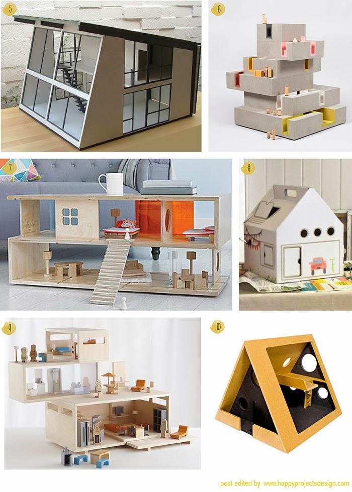 Inspiración: Casitas de muñecas modernas