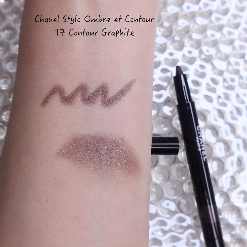 Chanel Stylo Ombre et Contour 17 Contour Graphite swatch