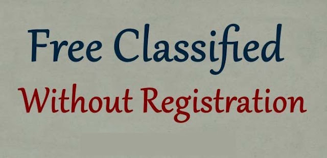 Post Free Classified Sites Without Registration