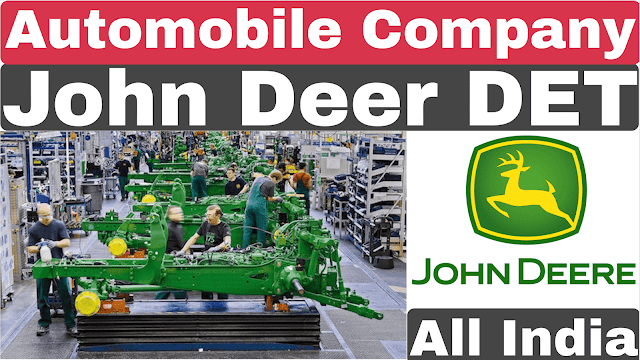 John Deere DET Recruitment 2020 | Private Job | John Deere