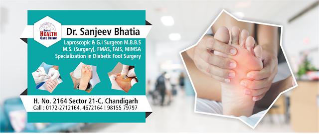 Diabetic Foot Ulcer Treatment In Chandigarh