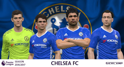 PES 2016 Chelsea 16/17 Adizero version by Gerlamp