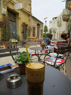 One Week in Cyprus Itinerary: Frappe in Old Town Lemesos