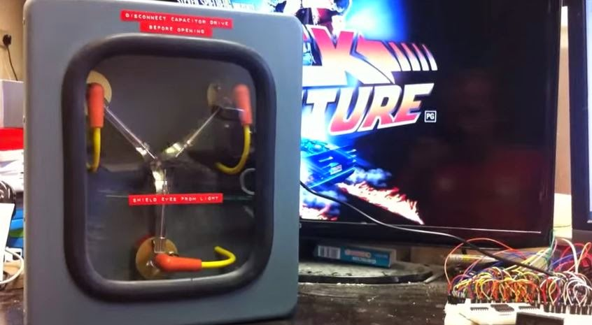 Fan Makes His Own Flux Capacitor From Back To The Future