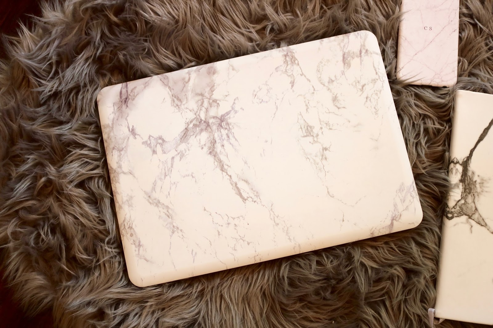 Marble Mac Computer Case