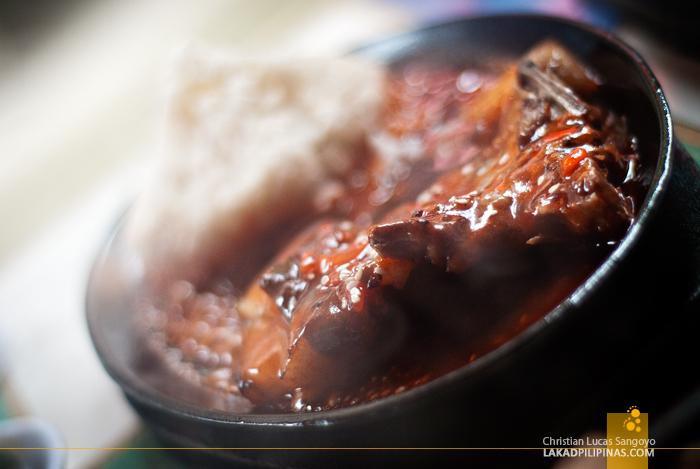 Smoke Restaurant Boracay Pan Grilled Pork