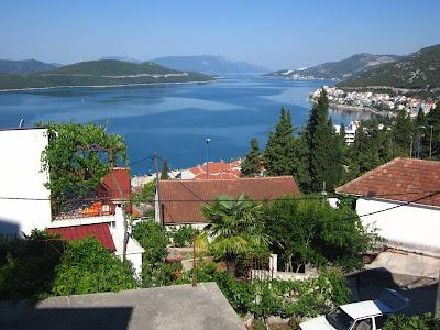 Peljesac peninsula from Neum in Bosnia