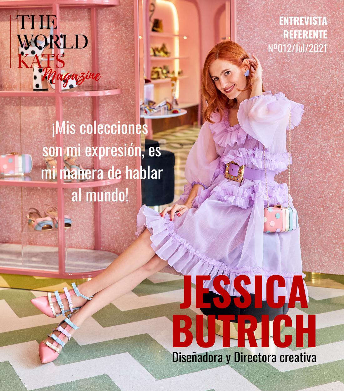 Entrevista a Jessica Butrich, Diseñadora y Directora Creativa de Butrich