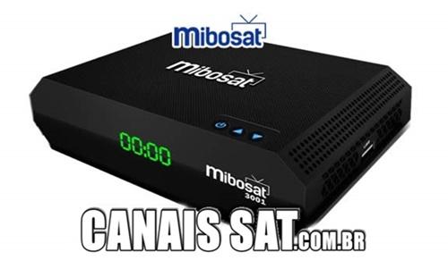 Mibosat 3001 Atualização V3.0.27 - 25/02/2021