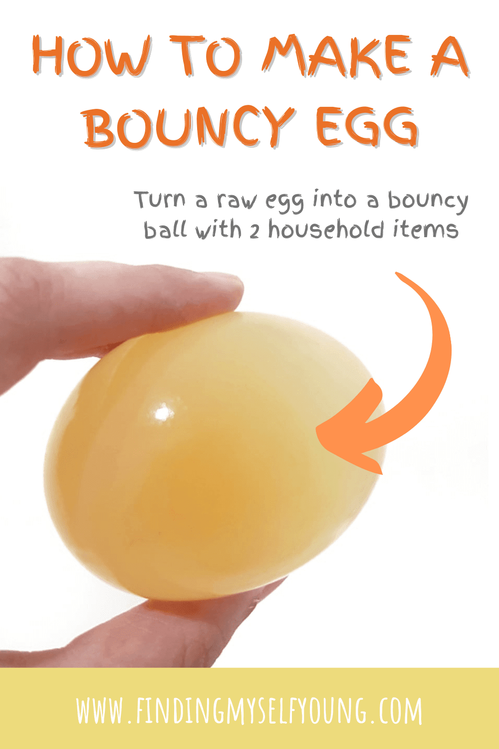 how to make a bouncy egg - easy science experiment for kids