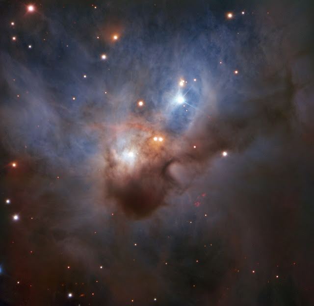 ESO's Cosmic Gems Programme captures the Cosmic Bat's dusty clouds