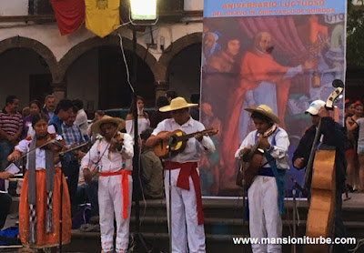 Purepechan Music in honor of Don Vasco de Quiroga in Patzcuaro