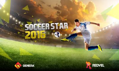 Download Soccer Star 2017 World Legend mod apk unlimited money