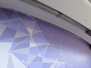 Purple Wall Transition Magic Kingdom Tomorrowland