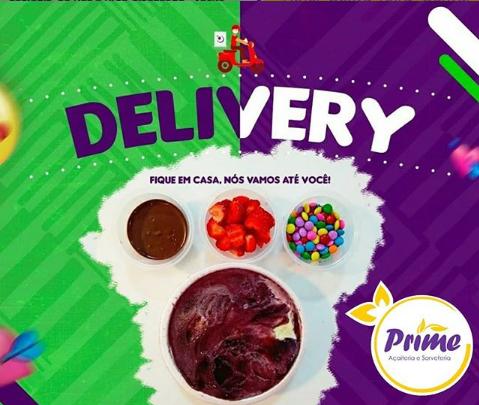Delivery Prime! Peça pelo Whatsapp e receba o melhor açaí na sua casa!