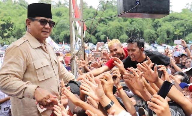 4.000 Purnawirawan TNI- Polri Deklarasi Dukung Prabowo di Yogyakarta